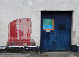 Blue Door / Red Wall